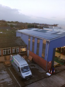 Gloucester Business Benefits From Solar Panels