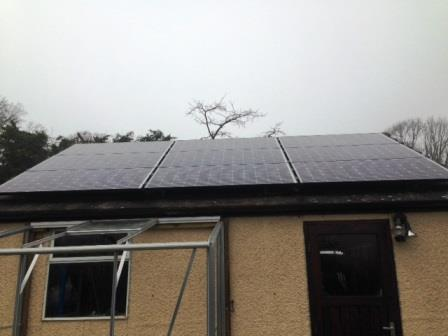 2.16kW Solar Panel Array installed in Kilcot, Newent, Gloucestershire by GSM Limited