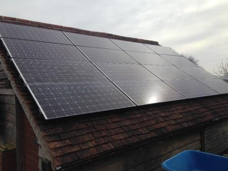 4kW Solar Panels Installed in Little Marcle, Herefordshire by GSM Limited of Newent
