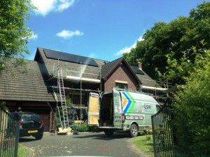 4kW Domestic Solar Panel Installation in Redmarley Gloucestershire