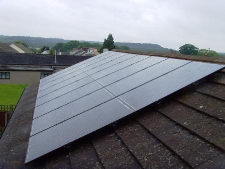 GSM completed Solar Panel Installation for Cinderford, Gloucestershire customers.