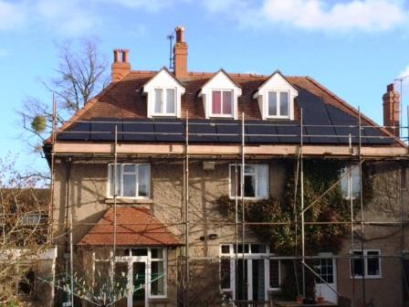 4kW Solar Panel Installation in Cheltenham completed by GSM Newent.