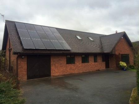 GSM complete a 4kW Solar Panel installation for our newest customers in Much Marcle Herefordshire. Locally based we provide a fantastic service and support. Book a free survey to  find out more.