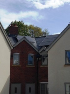 2.9kW Solar Panel Split Roof System installed by GSM in Ross-on-Wye, Herefordshire by GSM Limited.