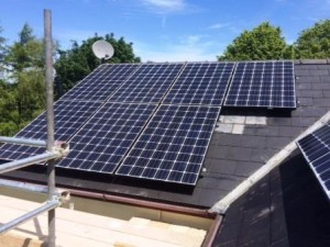 GSM Limited instalaled a split solar panel system to maximise customers energy production for home in Coleford, Gloucestershire.