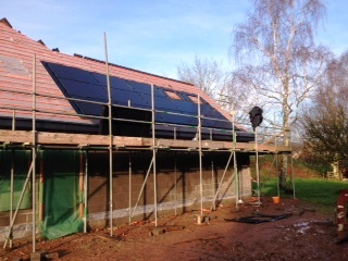 Building a new home? Why not have an integrated Solar Panel Roof system installed by GSM Limited.