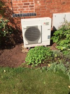 GSM Limited installed an Air Source Heat Pump in Ledbury, Herefordshire. Would you like to see how they work ?