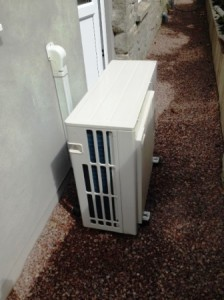 Air Source Heat Pump Forest of Dean, 8kW Daiken for new extension heating and hot water
