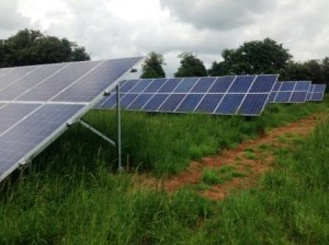 A one stop hassle free installation by GSM of a Ground Mounted 20kW Solar Panel Installation