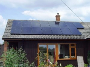 GSM Limited with another Solar Panel Installation in Upleadon Gloucestershire