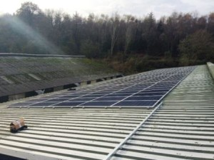 Usk poultry farm installs 50kW Solar Panels with help and assistance from GSM Limited, Newent.